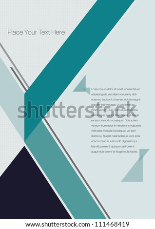 print vector poster design template layout design background