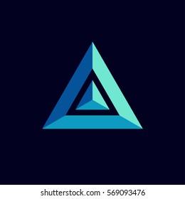 prism logo icon design