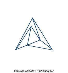 prism logo template