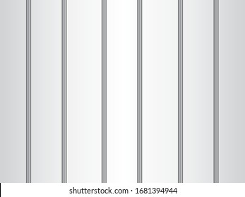 The prison bars. Vector graphics.