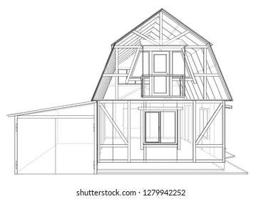 structural drawings Stock Vectors, Images & Vector Art | Shutterstock