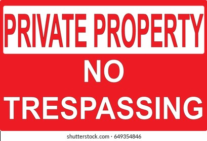 photo about Printable No Trespassing Sign named No Tresping Signal Pictures, Inventory Visuals Vectors