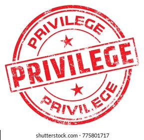 Privilege Rubber Stamp