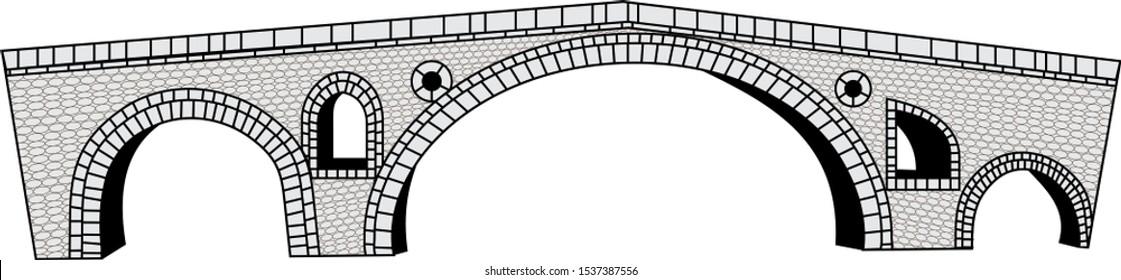 Prizren Kosovo monuments stone bridge