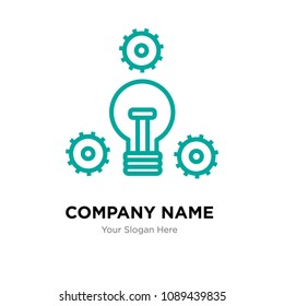 proactive company logo design template, Business corporate vector icon, proactive symbol
