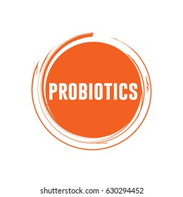 Probiotics Logo Vector Template