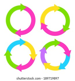 Process diagram illustrations