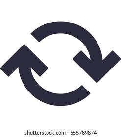 Processing Vector Icon