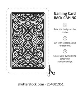 Procurement for making your own unique playing cards