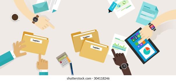 procurement management supplier process clean accountable bidding