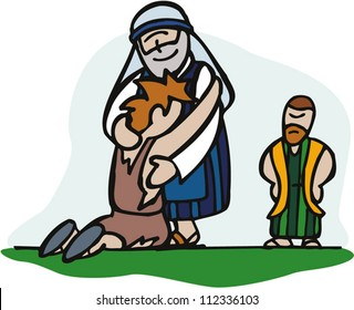 the return of the prodigal son images stock photos vectors rh shutterstock com  prodigal son clipart free