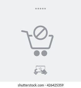 Product not available icon