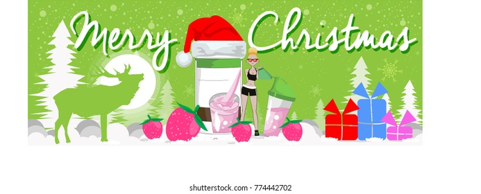 Product Protein merry christmas