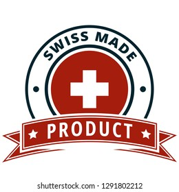Product Swiss Made (Made in Switzerland) illustration