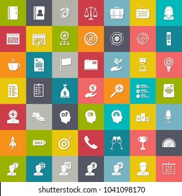 productivity icons, business management icons, finance and strategy icons
