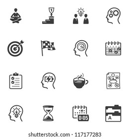 Productivity Improvement Icons