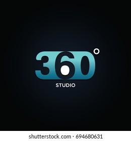 Profesional 360 Degree Symbol Logo