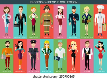Profession people collection. Vector illustration