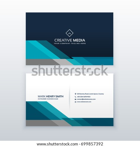 Professional business card design template stock vector royalty professional business card design template fbccfo Images