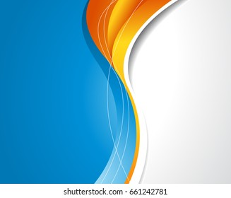 Orange blue background images stock photos vectors shutterstock professional business design layout template or corporate banner design magazine cover publishing and print altavistaventures Images