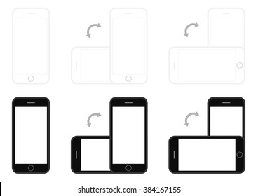 Cell on a sheet of paper stock vector. Illustration of isolated.
