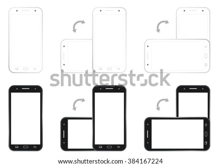 Professional of cell phone screen hd 1920 x 1080 storyboard.