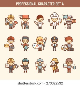 professional character set