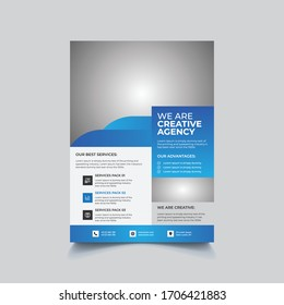 Professional Creative Colorful Modern Abstract Corporate Business Marketing Advertising Flyer Design Minimal Vector Templates
