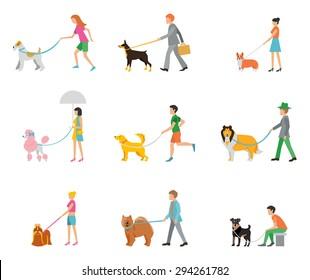 professional dog walking