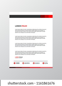 Letterhead template images stock photos vectors shutterstock professional letterhead template maxwellsz