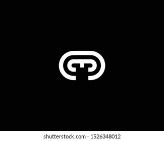 Professional and Minimalist Letter NM MN Logo Design, Editable in Vector Format in Black and White Color