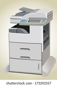 Professional multifunction printer