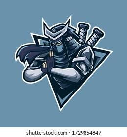 Professional ninja logo mascot design