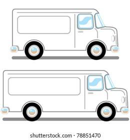 professional service vans, long and short