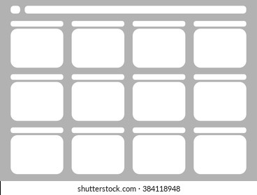 Professional of traditional tv 4:3 ntsc and pal storyboard template is convenience to present the storyline to client. A4 design of paper ratio is easy to fit for print out.