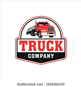 Professional trucking company with a classic style