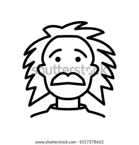 professor icon vector illustration