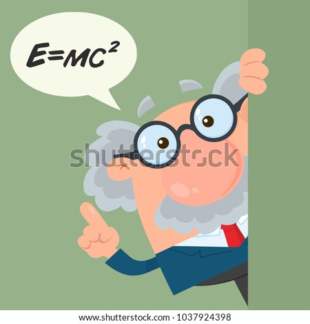 Professor Or Scientist Cartoon