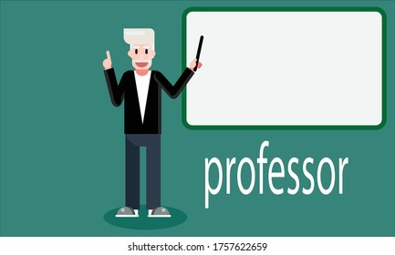 Professor teacher scientist Study physicists