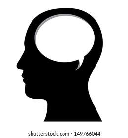 profile design over white background vector illustration