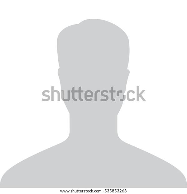 graues profilbild