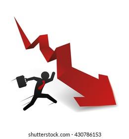 Profit design. Business icon. White background , vector