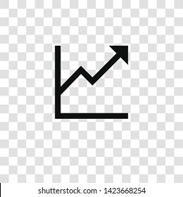 profits icon from miscellaneous collection for mobile concept and web apps icon. Transparent outline, thin line profits icon for website design and mobile, app development