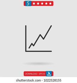 profits vector icon
