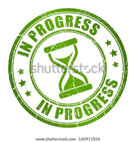 progress vector stamp stock vector royalty free 160911836