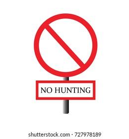 prohibit sign.vector illustration.