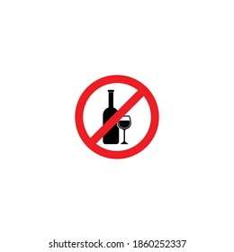 prohibition sign icon set vector symbol