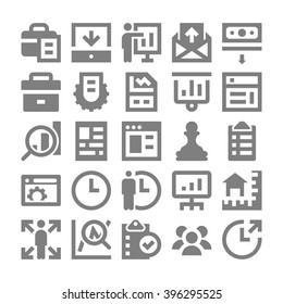 Project Management Vector Icons 1