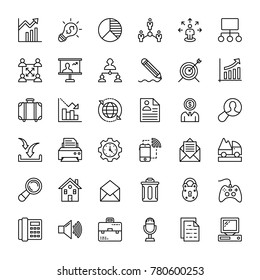 Project Management Vector Icons