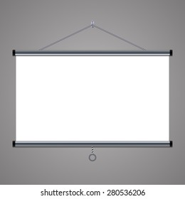 projection screen to showcase your projects, 16:9 aspect ratio